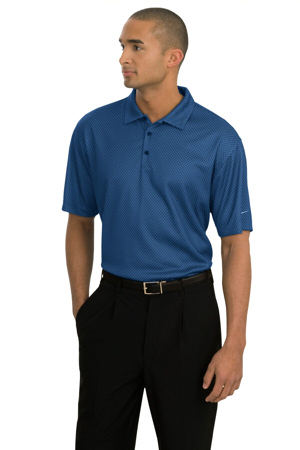 NIKE GOLF - Dri-FIT UV Patterned Sport Shirt.