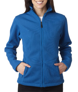 (s3415br) Storm Creek Ladies' IronWeave Full Zip Fleece
