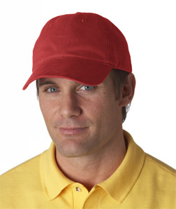 UltraClub Classic Cut Brushed Cotton Twill Unconstructed Cap