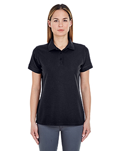 UltraClub Ladies' Basic Blended Pique Polo