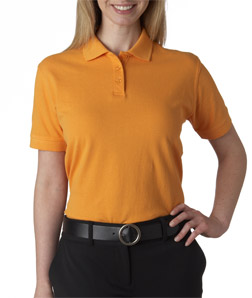 UltraClub Ladies' Classic Pique Polo