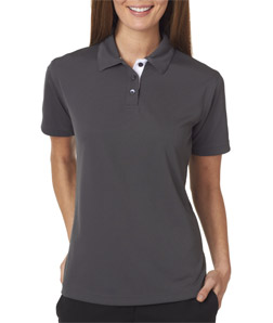 UltraClub Ladies' Platinum Performance Birdseye Polo with TempControl Technology