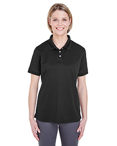 UltraClub Ladies' Platinum Performance Pique Polo with TempControl Technology