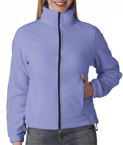 UltraClub Ladies' UltraClub Iceberg Fleece Full-Zip Jacket