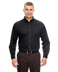 UltraClub Men's Cypress Twill Shirt with Pocket