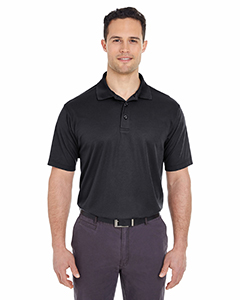 UltraClub Men's Tall Cool & Dry Mesh Pique Polo