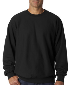 Weatherproof Adult Cross Weave Crewneck Sweatshirt