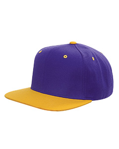 Yupoong Yupoong 6-Panel Structured Flat Visor Classic Snapback