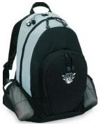 logo sports backpack